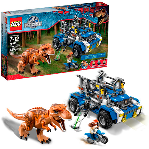 LEGO Jurassic World 75918 Охотник на Тираннозавров