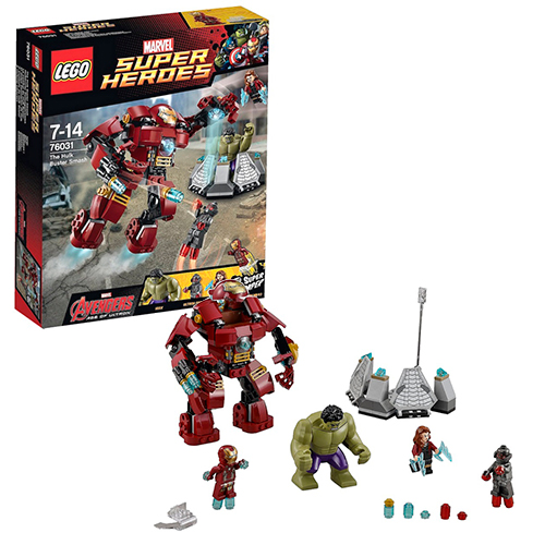 LEGO Super Heroes 76031 Marvel Эра Альтрона: Разрушительный удар Халкбастера