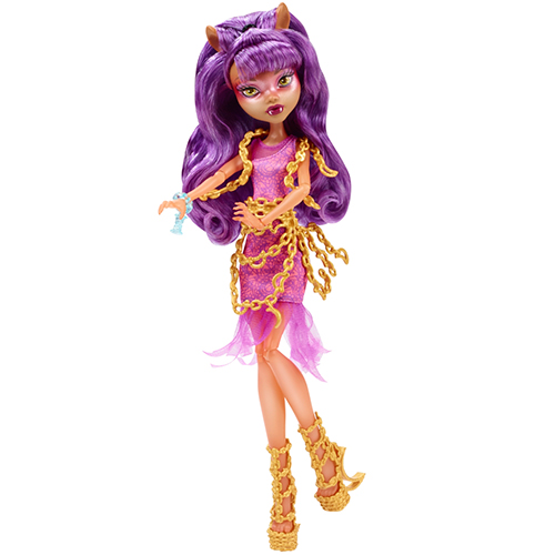 Клодин Вульф кукла Haunted Getting Ghostly Clawdeen Wolf Doll