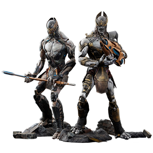 Chitauri Commander and Footsoldier