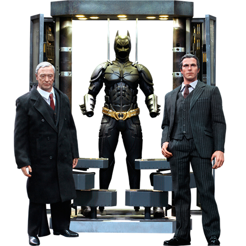 Batman Armory with Bruce Wayne and Alfred