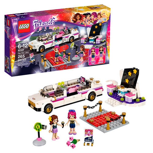 LEGO Friends 41107 Поп-звезда: Лимузин
