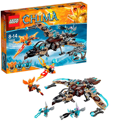 LEGO 70228 Legends Of Chima Небесный истребитель Валтрикса