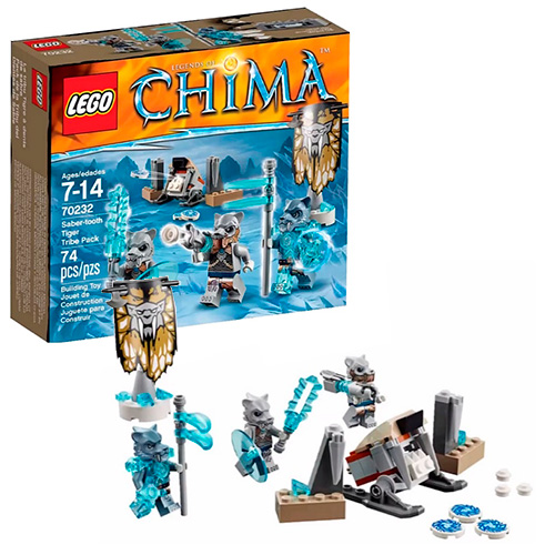 LEGO 70232 Legends Of Chima Лагерь клана Саблезубых Тигров