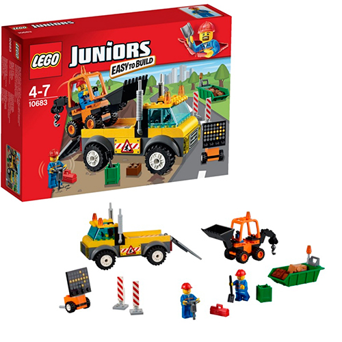 LEGO Juniors 10683 Ремонт дороги