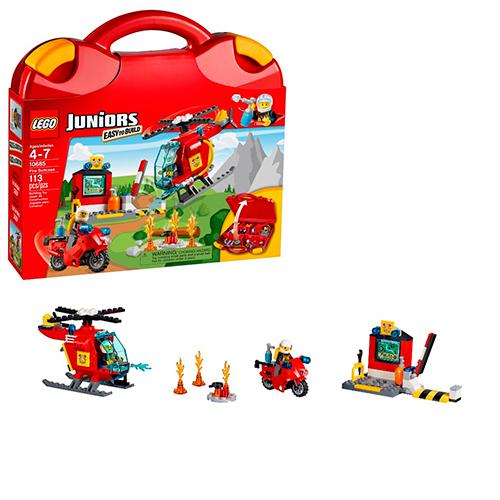 LEGO Juniors 10685 Чемоданчик Пожар