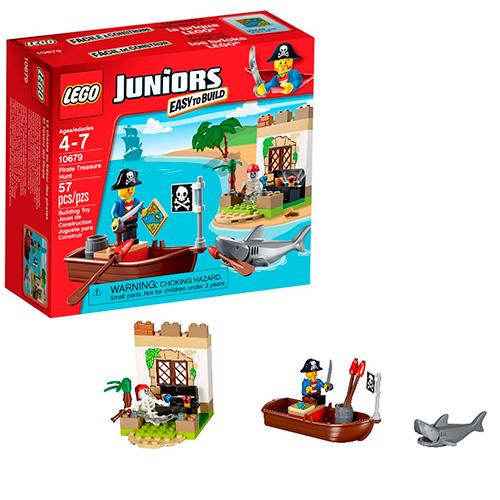 LEGO Juniors 10679 Охота за сокровищами