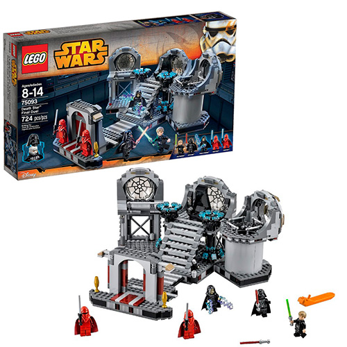 LEGO Star Wars 75093 Звезда Смерти – Последняя схватка
