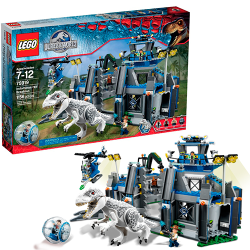 LEGO Jurassic World 75919 Побег Ультра Динозавра