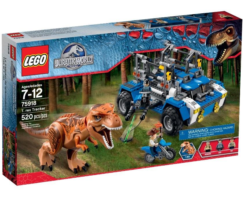 LEGO Jurassic World 75918 Охотник на Тираннозавров