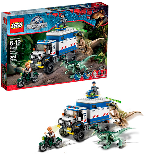 LEGO Jurassic World 75917 Ярость раптора