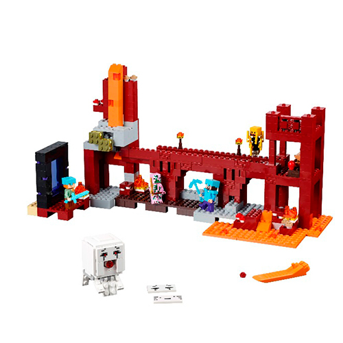 LEGO Minecraft 21122 Крепость нижнего мира