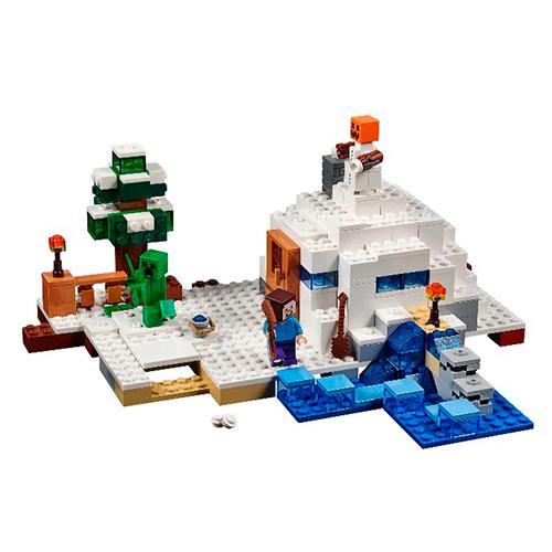 LEGO Minecraft 21120 Снежное укрытие