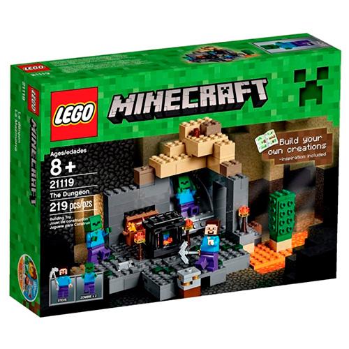 LEGO Minecraft 21119 Темница