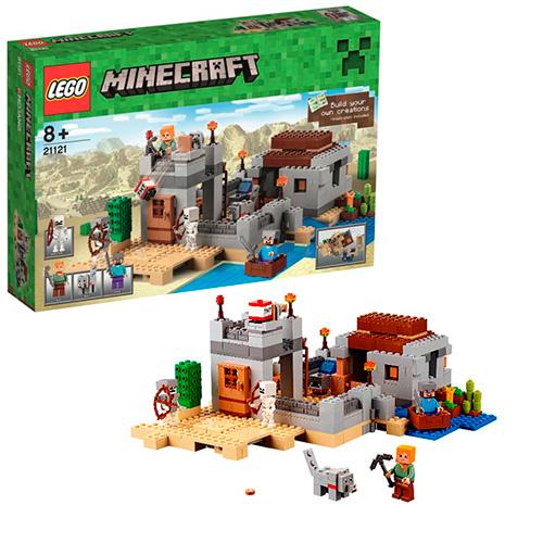 LEGO Minecraft 21121 Застава в пустыне