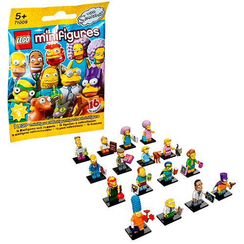LEGO Simpsons 71009 2-й выпуск (неизвестная, 1 из 16 возможных)