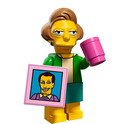 LEGO Simpsons 71009-14 2-й выпуск - Эдна Крабаппл