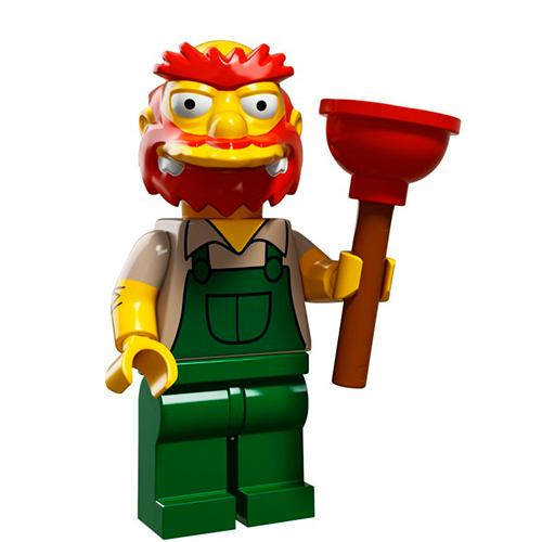 LEGO Simpsons 71009-13 2-й выпуск - Садовник Вилли