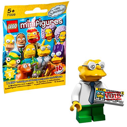 LEGO Simpsons 71009-10 2-й выпуск - Ганс Молман
