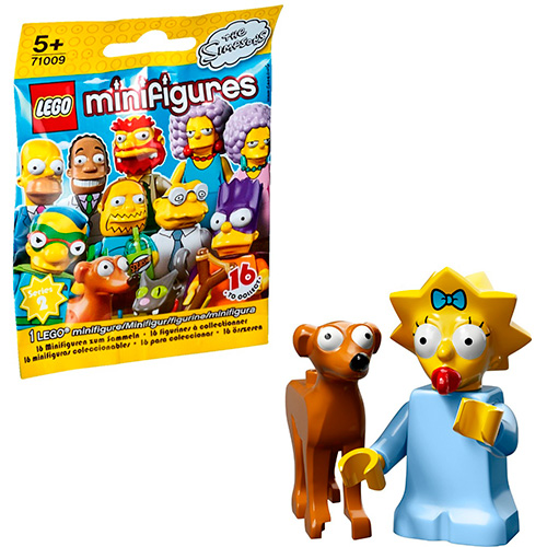 LEGO Simpsons 71009-4 2-й выпуск - Мэгги и Маленький помощник Санты