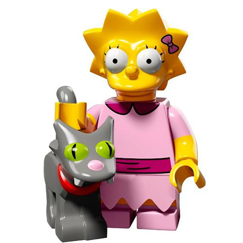 LEGO Simpsons 71009-3 2-й выпуск - Лиза и Снежинка II
