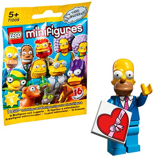LEGO Simpsons 71009-1 2-й выпуск - Гомер