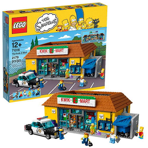 "LEGO Simpsons 71016 Магазин ""На скорую руку"""