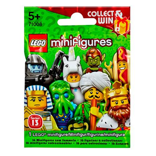 LEGO Minifigures 71008-14 13-й выпуск - Человек-хотдог