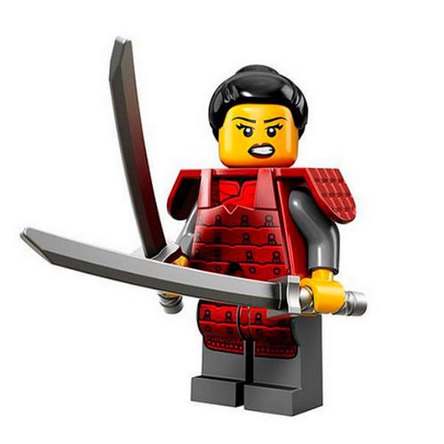 LEGO Minifigures 71008-12 13-й выпуск - Самурай