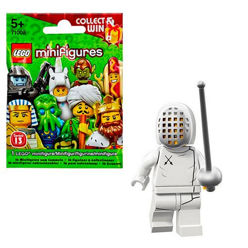 LEGO Minifigures 71008-11 13-й выпуск - Фехтовальщик
