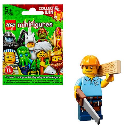 LEGO Minifigures 71008-9 13-й выпуск - Плотник
