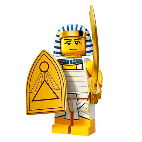 LEGO Minifigures 71008-8 13-й выпуск - Египетский воин
