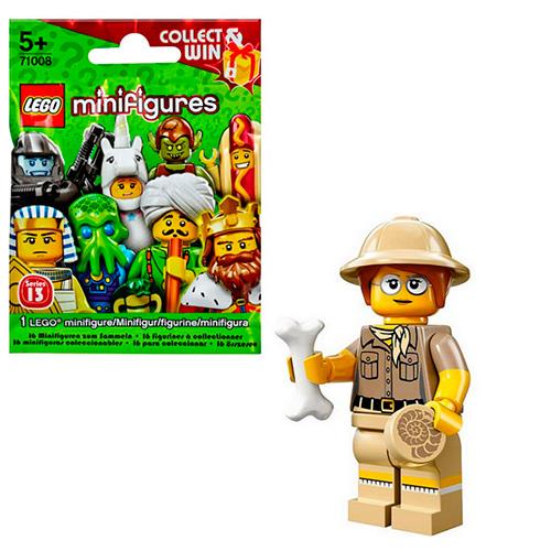 LEGO Minifigures 71008-6 13-й выпуск - Палеонтолог