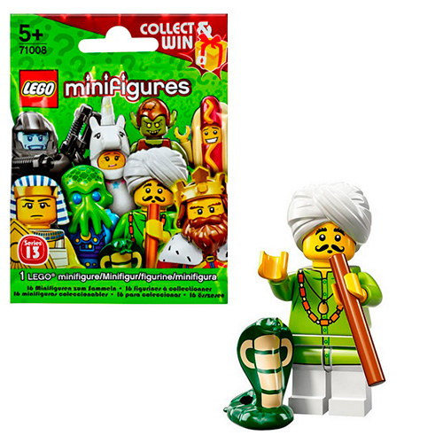 LEGO Minifigures 71008-4 13-й выпуск - Заклинатель змей