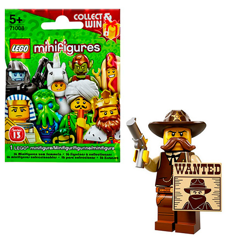LEGO Minifigures 71008-2 13-й выпуск - Шериф