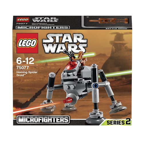 LEGO Star Wars 75077 Самонаводящийся дроид-паук