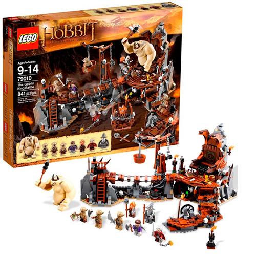 Lego 79010 Hobbit Битва с королём гоблинов