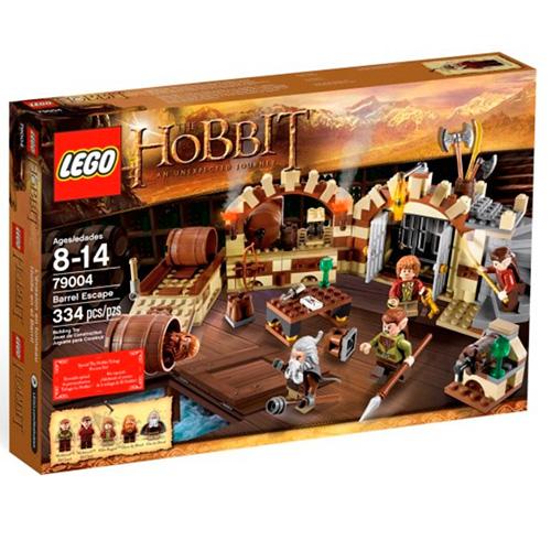Lego 79004 Hobbit  Спасительный побег в винных бочках