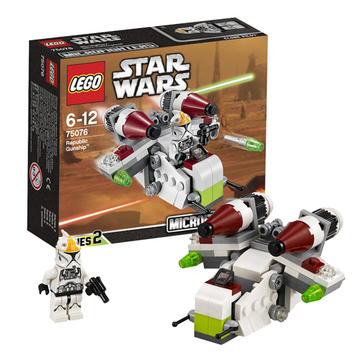 LEGO Star Wars 75076 Республиканский истребитель