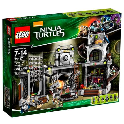 Lego 79117 TMNT Вторжение в логово черепашек
