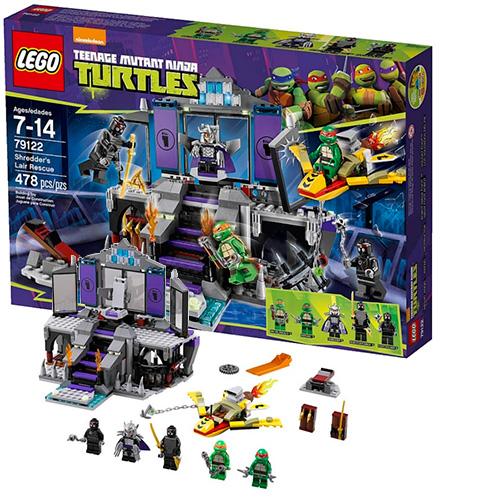Lego 79122 TMNT Спасение из логова Шреддера