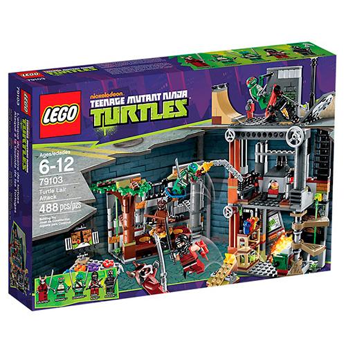 Lego 79103 TMNT Атака логова Черепашек