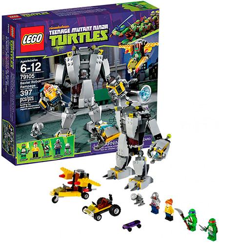 Lego 79105 TMNT Нападение робота Бакстера
