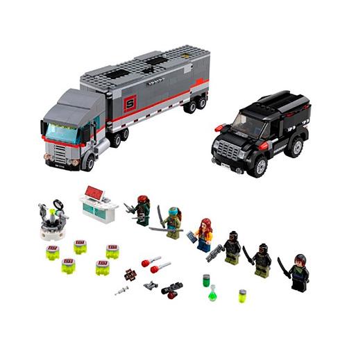 Lego 79116 TMNT Большая снежная машина для побега