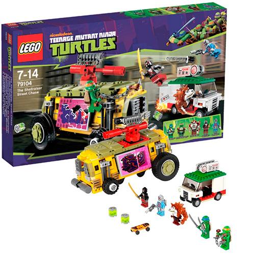 Lego 79104 TMNT Преследование на грузовике Черепашек