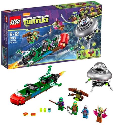Lego 79120 TMNT Нападение с воздуха