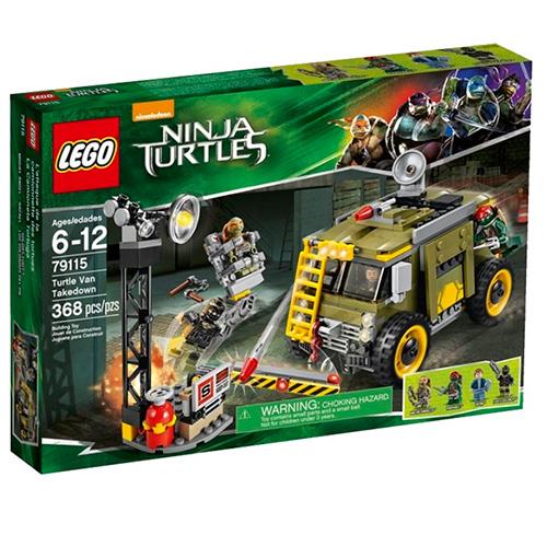 Lego 79115 TMNT Освобождение фургона черепашек