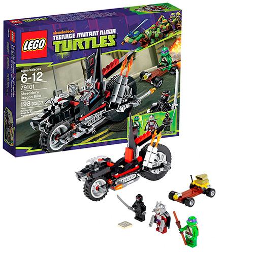 Lego 79101 TMNT Мотоцикл-дракон Шреддера