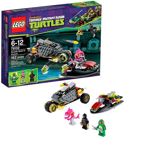 Lego 79102 TMNT Хитрый план преследования