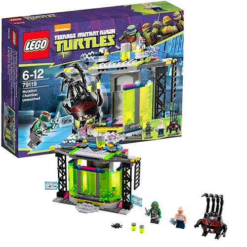 Lego 79119 TMNT Комната мутации